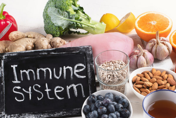 Immune system superfoods